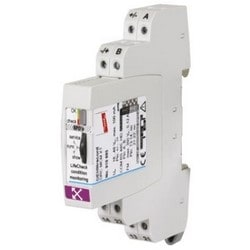 DIN Rail Mount Device w/ Intergrated LifeCheck Sensor for Condition Monitoring of Max. 10 LifeCheck-Equipped BXT/BXTU Arrestors