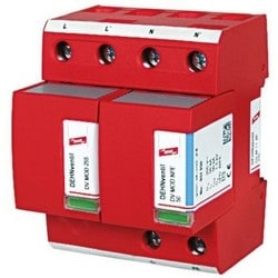 DEHNventil Modular Lightning Current/Surge Arestor for Single-Phase TT and TN-S Systems (1+1 Configuration), 230V, Type 1 and Type 2 SPD