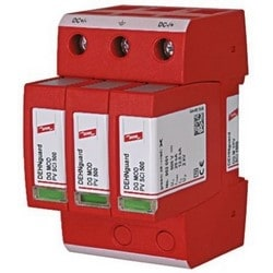 DEHNguard Modular Multipole Surge Arrestor for PV Systems, 1000V, Tyoe 2 SPD, w. 3-Step D.C. Switching Device