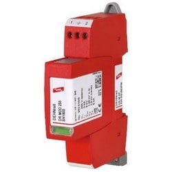 DEHNrail Modular Two-Pole Surge Arrestor, 230V, Type 3 SPD, w/ Floating Remote Signaling Contact