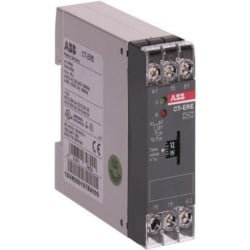 Timer with 24 V AC/DC, 220-240 V AC rated control supply voltage, timing range of 0.1-10 s, no control input, and 1 SPDT (c/o) output contact