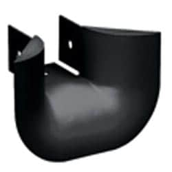 "Fitting, 3-Sided BRC Trumpet Spillout for 2"" x 2"" (50mm x 50mm) Exit, Black"