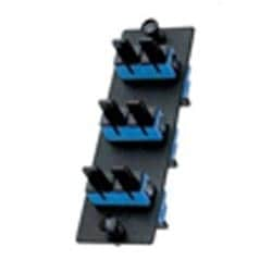 FAP with 3 SC Duplex Single-mode Adapters (Blue) Phos