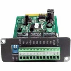 Dry contact and programmable relay card for use on PRO-RT, EnterprisePlus LCD and Endeavor Series