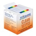 CLEANWIPES 4IN X 2IN          BOX OF 400