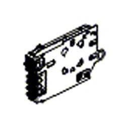 FiberExpress Manager Connector Module, Zirconia Ceramic, Single-mode, ST type, 12 fibers