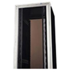 "Vented Plexiglass Door; 19""W x 84""H; Smoked; M-Series MegaFrame"