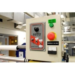 """Raised Panel Labels, Gloss, Foam Backed, 1"""" H x 6"""" W, Polyester, Thermal Transfer, Black, 25 Per Box, RoHS Compliant"""