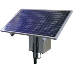 15W continuous power solution with 60W Solar Panel, Solar Power Wireless Ethernet Kit for Remote Locations