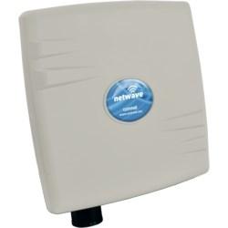Wireless Ethernet Device, Individual Hardened Mini Single Radio, 20/40 Megahertz Bandwidth, 42 to 57 Volt DC, 8 Watt, With Pole Mounting Assembly