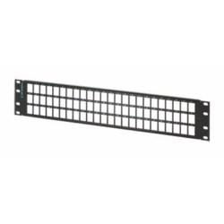 Rear Load High Density Jack Panel Kit for 72 Clarity 6 or 5E Panel Jacks