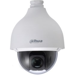 """Network Dome Camera, 1/3"""", 4MP, 0.05Lux/F1.6, 30X CVI PTZ, 30fps, AC24V, IP67, WDR, IK10, Heater, PSU, PFB300S Wall Mount Included"""