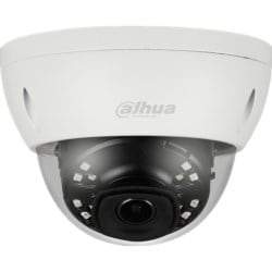 """Network Mini Dome Camera, 1/2.9"""", CMOS, 6MP, Manual, 0.04Lux/F1.6, 2.8mm, WDR, 20fps, IR, DC12V, IP67, IK10, PoE, H.265+/H.265/H.264+/H.264"""