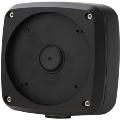 Camera Junction Box, Water Proof, Aluminum, IP66, Black