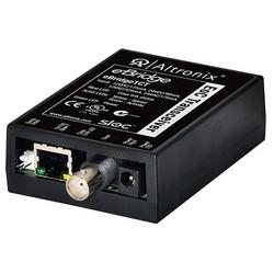 EoC Single Port Transceiver, 25Mbps, silmultaneous composite video, 12/24VDC or 16/24VAC, Requires Compatible Receiver