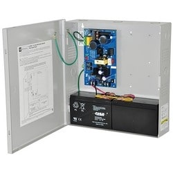 Power Supply Charger, Single Class 2 Output, 12/24VDC @ 2.5A, 220VAC, BC300 Enclosure