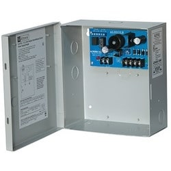 Power Supply Charger, Single Class 2 Output, 12VDC @ 1.75A, 24VAC, BC100 Enclosure