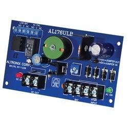 Access Control Power Supply Charger, Single PTC Class 2 Output, 12/24VDC @ 1.75A, FAI, 24VAC, Board