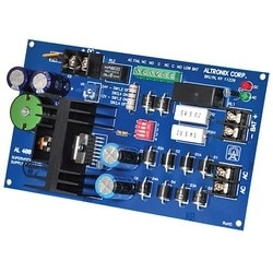 Power Supply Charger, Single Class 2 Output, 12/24VDC @ 4A, 28VAC, Board