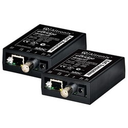 EoC Single Port Adapter Kit, 25Mbps, silmultaneous composite video, 12/24VDC or 16/24VAC, Includes Receiver & Transceiver