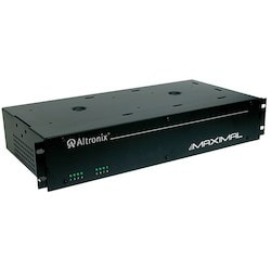 Access Power Controller w/ Power Supply/Charger, 8 PTC Class 2 Relay Outputs, 12/24VDC @ 4A, 115VAC, 2U