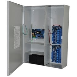 Access Power Controller w/ Power Supply/Charger, 16 PTC Class 2 Relay Outputs, 12/24VDC @ 6A, FAI, LinQ2 Ready, 115VAC, BC800 Enclosure