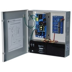 Power Supply Charger, 4 PTC Outputs, 24VDC @ 10A, 115VAC, Supervision, BC300 Enclosure