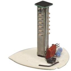 FLASHING LED LIGHT SOURCE RED 24 VDC