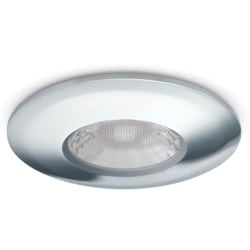 V50 Fire-rated Downlight, 7.5W, Dimmable, 3000/4000K, 600/650lm, Chrome Finish