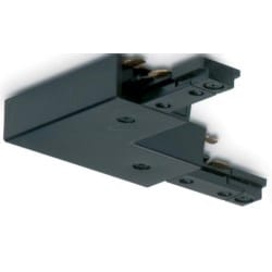 Mainline Adjustable Right-angled/Straight Connector, Mains, IP20, Black