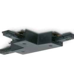 Mainline Track T-connector, Mains, IP20, Black