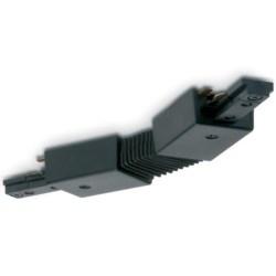 Mainline Flexible Track Connector, Mains, IP20, Black