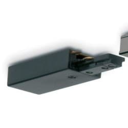 Mainline Track End Power Feed, Mains, IP20, 84mm, Black