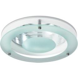 Coral LED Rim, Detachable Rim, C/W , Drop Glass: White
