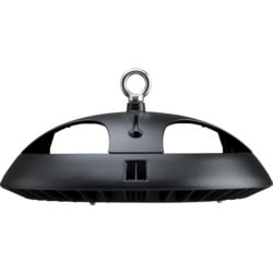 Toughbay Ceiling Mount, Hook, Circular, 180W, 19,700lm 5700K, IP65, 105 Dimmable, Black