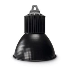 High Output Dome Pendant, 30W, LED, 4000k, Black