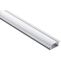 Opal Diffuser, Aluminium Recessed Profile, 1m