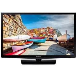 "Hospitality TV, 24"" Screen, Slim Direct-Lit, LED Backlight, HD, 1366 x 768 Resolution, HDMI/RJ12/IR/USB Interface, 110 to 120 Volt AC, 22.1"" Width x 6.4"" Depth x 15.1"" Height"