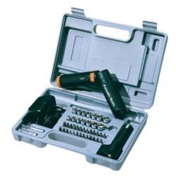 Kit, Cordless Screwdriver and Socket Set