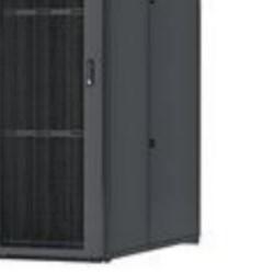 Server Cabinet, 800 MM (W), 45RU, 1070mm (D), Black, Vertical Blanking Panel, Cage Nut Rails