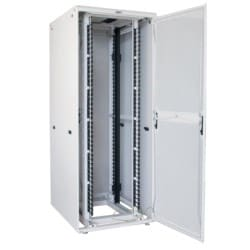 """EN Enclosure (includes doors and sides) with #10-32 mounting rails; 84""""H x 32""""W x 48""""D"""