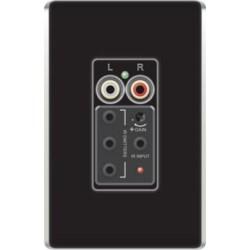 Single Source Input, Flush Mount, 24 Volt DC, Black, For Audio System