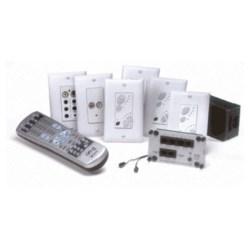 lyriQ Single Source, 4 Zone Kit with Flush Mount Inputs, White