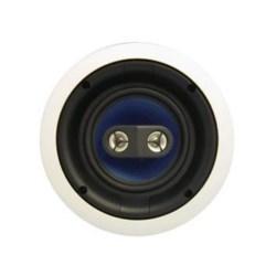 """Ceiling Speaker, Dual Voice, 100 Watt, 60 Hertz to 20 Kilohertz, 91 dB, 6.5"""" Diameter x 3.29"""" Depth"""