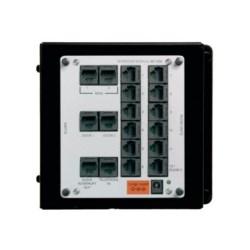 "Intercom Module, RJ45, Cat 5 UTP Cable, 4-Pair, 24 AWG, 6.5"" Width x 5.9"" Height"