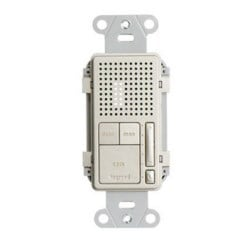 """Broadcast Intercom Room Unit, Electrical Wall Box/Mud Ring Mount, 24 Volt DC, 0.25 Ampere, 7.125"""" Length x 4.38"""" Width x 3.38"""" Height, Cat 5E/Cat6 Cable, Nickel"""
