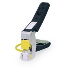 """Quick-Connect Punch and Go Tool, RJ45 Female Jack, 6.3"""" Length x 0.67"""" Width x 5.9"""" Height, Black, For Wire"""