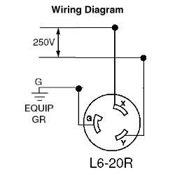 Nema L6 20 Wiring - machine learning Nema L R Wiring Diagram on