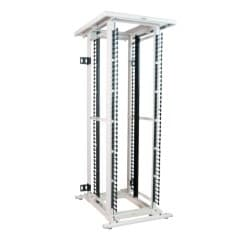 "EN frame with #10-32 mounting rails; 84""H x 32""W x 42""D"