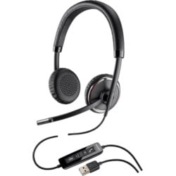 Blackwire, C520-M - Over-the-head Stereo Corded USB Headset Microsoft SFB Compatible
